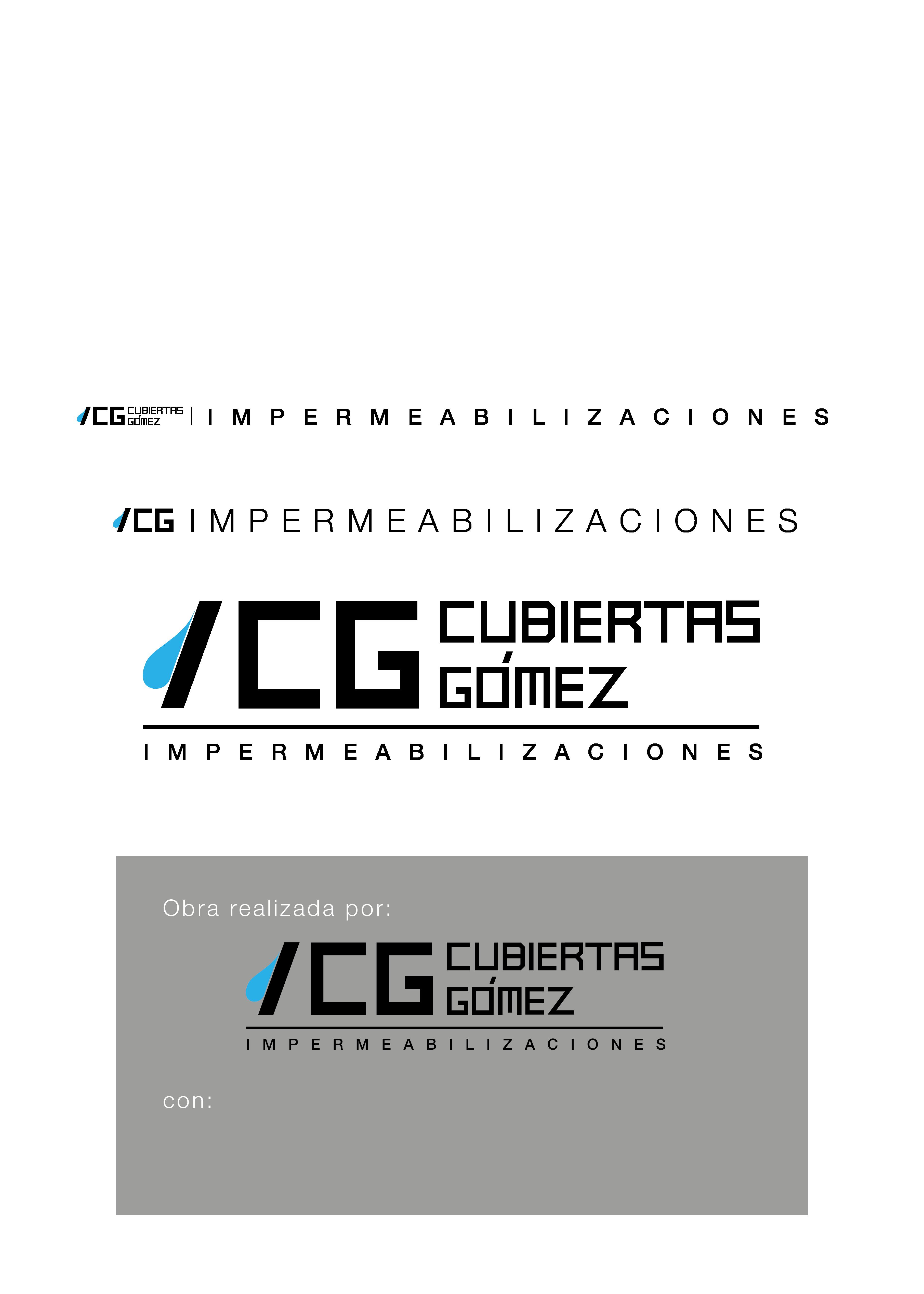 Identidad Cubiertas Gómez