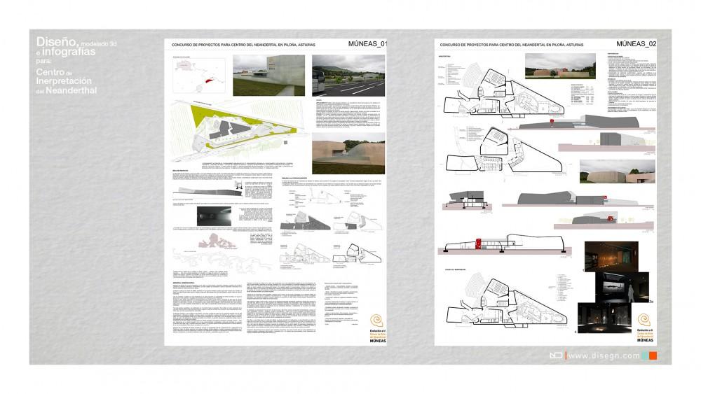 Proyecto para Centro de Interpretación del Neanderthal - Villaviciosa