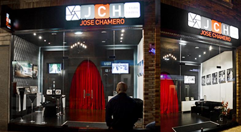 Decoración Estudio de fotografía Jose Chamero